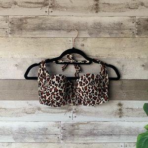 Victoria Secret Cheetah Swim Bikini 36D